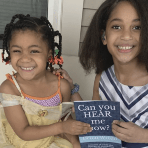 Fourth grader battling sudden hearing loss writes book to help others